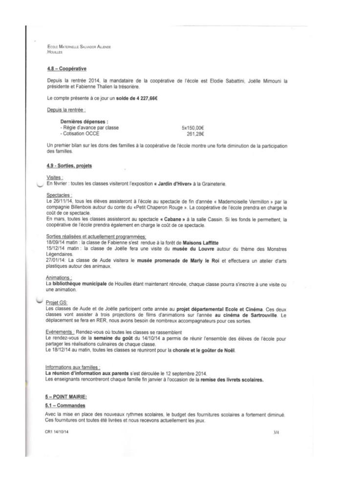 Compte rendu Conseil d'école Allende du 14 octobre 2014-3