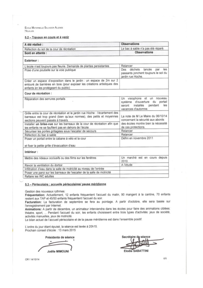 Compte rendu Conseil d'école Allende du 14 octobre 2014-4