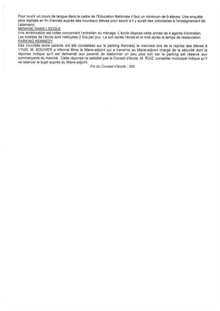 Compte rendu du conseil d'école Reveil Matin du 6 novembre 2014-4