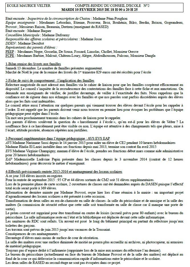 VELTER_CR_ConseilEcoleN°2_10022015_1