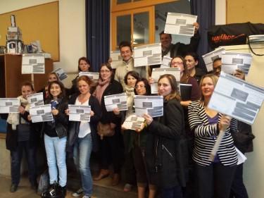 Parents mobilisés des écoles Buisson Bréjeat Kergomard à Houilles