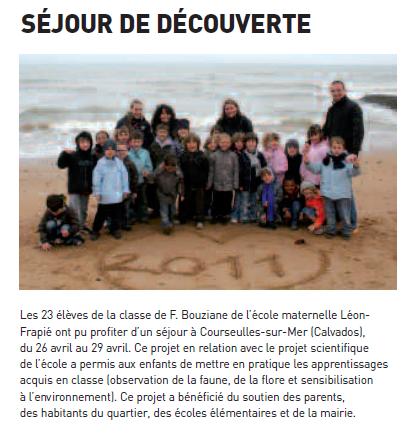 Ovillois_ArticleClasseDecouverteFRAPIE_Juin2011