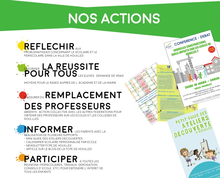 FCPE Houilles_Actions